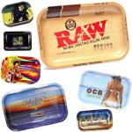 Custom printed rolling trays assortment