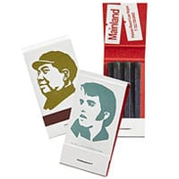 12-strike mini custom matchbooks