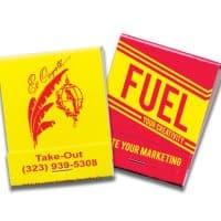 20-Strike Colored Matchbooks