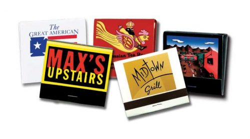 Here are some of our customized 30-strike custom matchbooks.