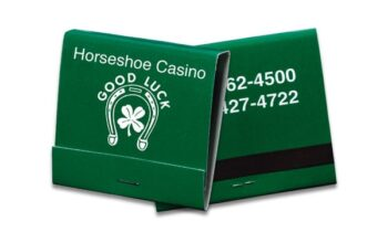 This is a picture of 30-strike white ink on green-colored board matchbook.
