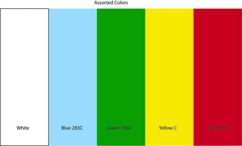 Assorted Regular Colors