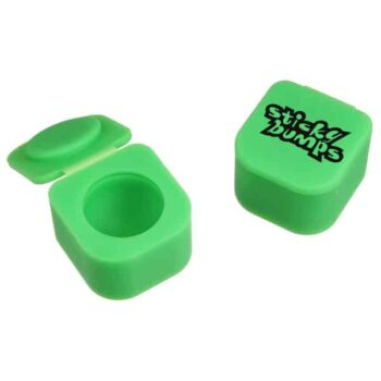 Here is a picture of green, single silicone cube containers. HiRes image