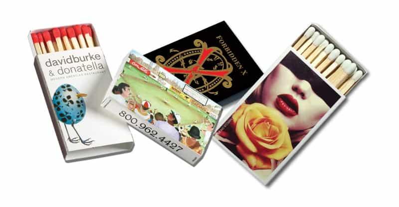 Assortment of standard matchboxes