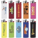 BIC Maxi lighters come in many colors