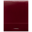 Burgundy Matchbook