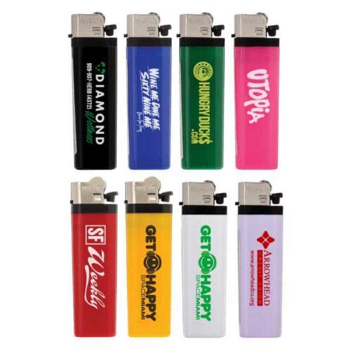 Solid Flint Cigarette Lighters