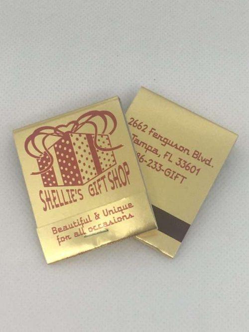 20-Strike Red Ink on Gold Foil