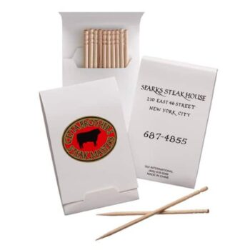 Toothpick Booklets with 7 i10 the pack