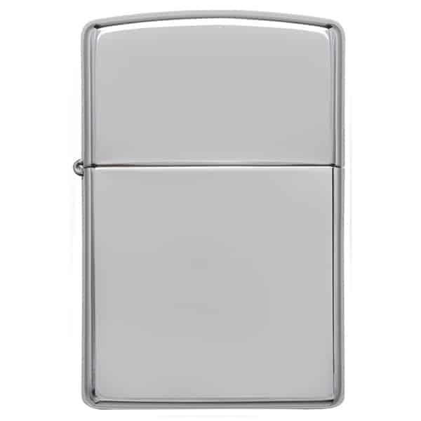 Closed High-Polish Chrome Zippo Windproof Lighter