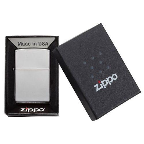 Case for High-Polish Chrome Zippo Windproof Lighter
