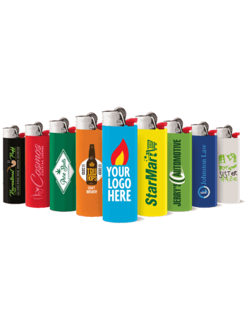 BIC Logo Lighters can be customized in many colors