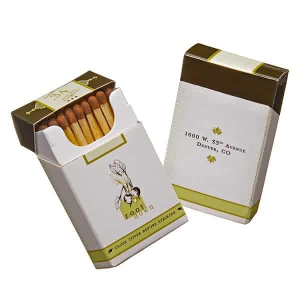 Specialty Flip Top Cigar Matchbox