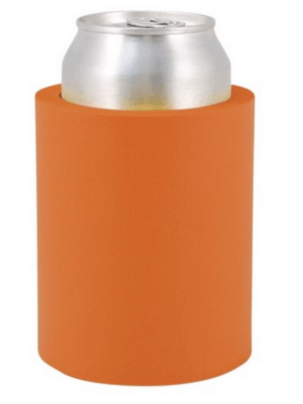 Indestructo Can Koozie-Orange