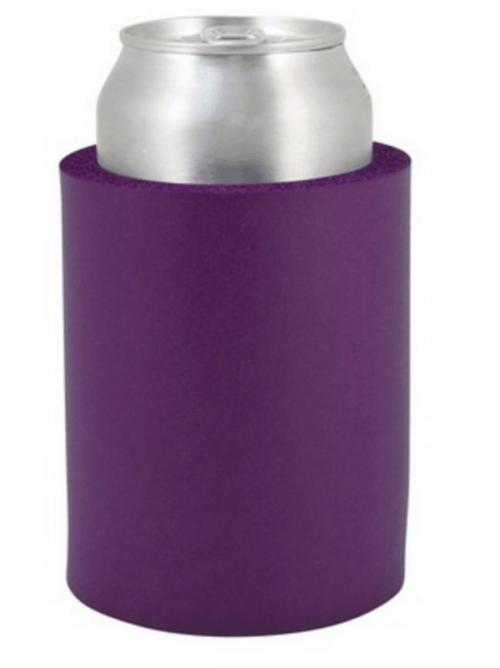 Indestructo Can Koozie-Purple