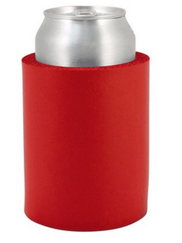 Indestructo Can Koozie-Red