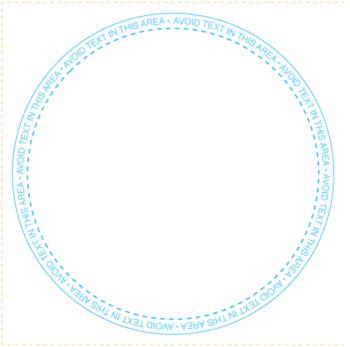 Round Coaster Template