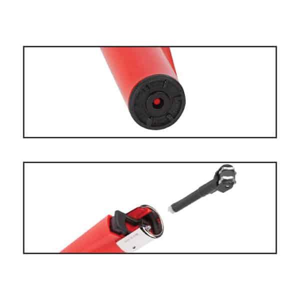 Clipper Refilable Flint Lighter - Easy to Refill