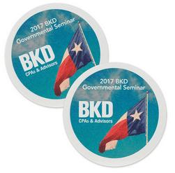 40Pt 35Inch Full-Color Pulpboard Coasters
