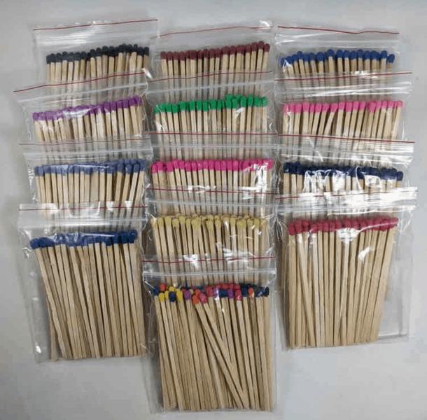 Wooden Match Sticks 4-inch
