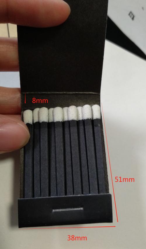 Deluxe Matchbook and Matchsticks